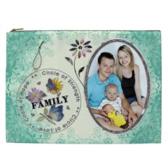 Family Xxl Cosmetic Bag By Lil    Cosmetic Bag (xxl)   7br1eq63mryr   Www Artscow Com Front