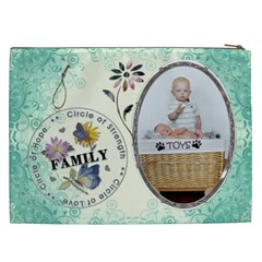 Family Xxl Cosmetic Bag By Lil    Cosmetic Bag (xxl)   7br1eq63mryr   Www Artscow Com Back