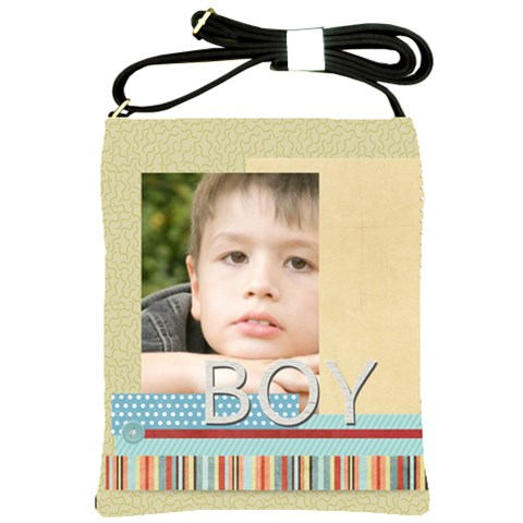 Boy By Jacob   Shoulder Sling Bag   Tuk2brzj33py   Www Artscow Com Front