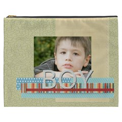 Boy By Jacob   Cosmetic Bag (xxxl)   Pkkic8uquixg   Www Artscow Com Front