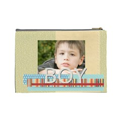 Boy By Jacob   Cosmetic Bag (large)   Z6z9rpyv8tdl   Www Artscow Com Back