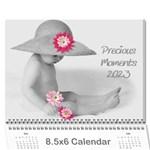 Precious moments 8.5x6 wall calendar - Wall Calendar 8.5  x 6