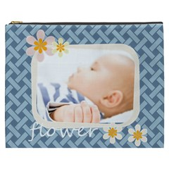 Flwoer By Joely   Cosmetic Bag (xxxl)   Qppupqobxs8v   Www Artscow Com Front