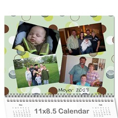 Meyer 2013 By Stacy   Wall Calendar 11  X 8 5  (12 Months)   R1mw6dwaoz0n   Www Artscow Com Cover