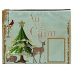 All Is Calm  XXXL  Gift Cosmetics Bag - Cosmetic Bag (XXXL)