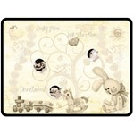 Baby Mine Heirloom  Extra Large Fleece Blanket - Fleece Blanket (Large)