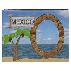 Mexico Xxxl Cosmetic Bag By Lil    Cosmetic Bag (xxxl)   Yfr6z36aplhv   Www Artscow Com Front