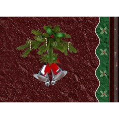 Happy Holidays 7x5 3d Card By Lil    Heart Bottom 3d Greeting Card (7x5)   C43mkn33wa4k   Www Artscow Com Back