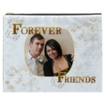 Forever Friends  XXXL  Gift Cosmetics Bag - Cosmetic Bag (XXXL)