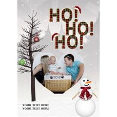 Ho Ho Ho 7x5 3d Card By Lil    Heart Bottom 3d Greeting Card (7x5)   1gh4wom7hugu   Www Artscow Com Inside
