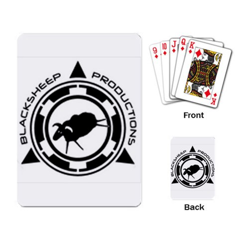 Bsp Logo Playing Cards By Michael   Playing Cards Single Design   Egcg1d453612   Www Artscow Com Back