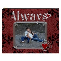 Always Forever Xxxl Cosmetic Bag By Lil    Cosmetic Bag (xxxl)   Kblgg9wcmvpc   Www Artscow Com Front