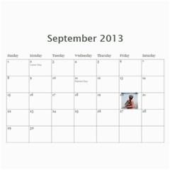 2013 By Mckel   Wall Calendar 11  X 8 5  (12 Months)   54zxobgvjan3   Www Artscow Com Sep 2013