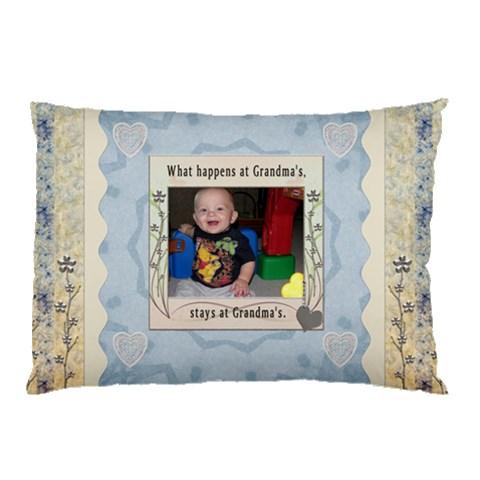 Grandmas House Pillow Case By Lil    Pillow Case   Zrl7675p89w3   Www Artscow Com 26.62 x18.9 Pillow Case