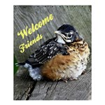welcome friends - Shower Curtain 60  x 72  (Medium)