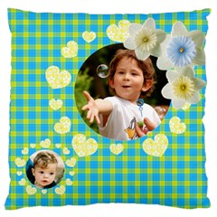 My Family Large Cushion Case (2 Sided) By Deborah   Large Cushion Case (two Sides)   Qu8tslvevs8x   Www Artscow Com Back