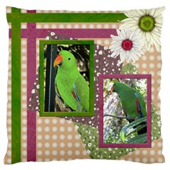 Polly Large Cushion Case (2 Sided) By Deborah   Large Cushion Case (two Sides)   K9yq318y68e0   Www Artscow Com Back