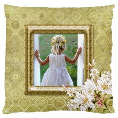 My Lily Large Cushion Case (2 Sided) By Deborah   Large Cushion Case (two Sides)   Du68rhjlg2dt   Www Artscow Com Back
