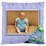 Lilac Delight Large Cushion Case - Large Cushion Case (One Side)
