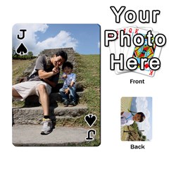 Jack By 李麗卿   Playing Cards 54 Designs   4nwju997n8g9   Www Artscow Com Front - SpadeJ