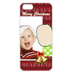 xmas - Apple iPhone 5 Seamless Case (White)