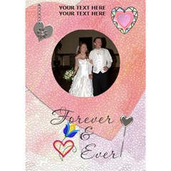 Forever 7x5 3d Card By Lil    Circle 3d Greeting Card (7x5)   8awutvaj82zc   Www Artscow Com Inside