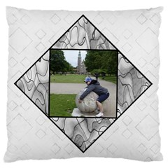Black And White Large Cushion Case (2 Sided) By Deborah   Large Cushion Case (two Sides)   375pgy9a7ow7   Www Artscow Com Back