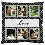 Love Large Cushion Case (2 sided) - Large Cushion Case (Two Sides)