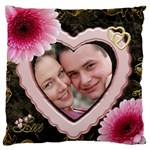 Love Large Cushion Case - Large Cushion Case (One Side)