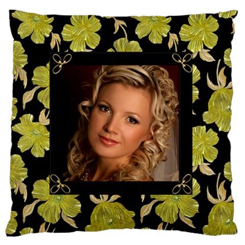 Our Poppy Large Cushion Case By Deborah   Large Cushion Case (one Side)   36jdr3bc4exp   Www Artscow Com Front