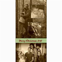 Christmas2012 By Hilary Troester   4  X 8  Photo Cards   T34i1zx23hjn   Www Artscow Com 8 x4 Photo Card - 8