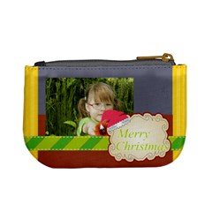 Xmas By Mac Book   Mini Coin Purse   Odnsixrhrdfx   Www Artscow Com Back