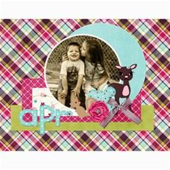 Calandar 2015 By Sheena   Wall Calendar 11  X 8 5  (12 Months)   El7ho57zc2ra   Www Artscow Com Month