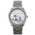 xmas - Sport Metal Watch