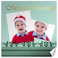 Merry Christmas By Clince   Canvas 12  X 12    Bb7j6zsfcyh9   Www Artscow Com 12 x12 Canvas - 11