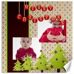 Merry Christmas By Clince   Canvas 12  X 12    Bb7j6zsfcyh9   Www Artscow Com 12 x12 Canvas - 18