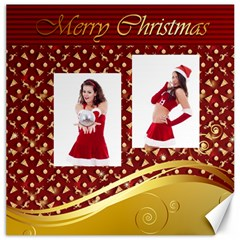 Merry Christmas By Clince   Canvas 12  X 12    Bb7j6zsfcyh9   Www Artscow Com 12 x12 Canvas - 5