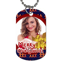 Xmas By Clince   Dog Tag (two Sides)   Il0oc48ehzh5   Www Artscow Com Front