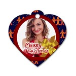 xmas - Dog Tag Heart (Two Sides)
