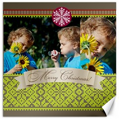 Xmas By M Jan   Canvas 16  X 16    Gxlttl2l6put   Www Artscow Com 16 x16 Canvas - 5