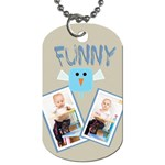 funny - Dog Tag (One Side)