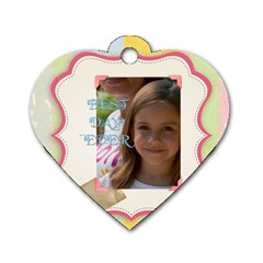 Funny By Jacob   Dog Tag Heart (two Sides)   Twjqlux3t4jo   Www Artscow Com Back