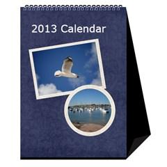 Damask Dream Desktop Calendar 2013 By Mim   Desktop Calendar 6  X 8 5    G0leujam4i7q   Www Artscow Com Cover