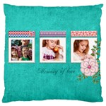 memory - Large Cushion Case (Two Sides)