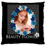 flower - Large Cushion Case (Two Sides)