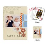 happy day - Playing Cards Single Design