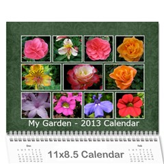 Damask Calendar For 2013 By Mim   Wall Calendar 11  X 8 5  (12 Months)   2xm01zbe0it5   Www Artscow Com Cover