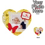 happy day - Multi-purpose Cards (Heart)