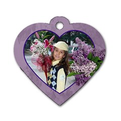Tabelka Za Ranica By Georgi Georgiev   Dog Tag Heart (two Sides)   Mgy6fbcvjvnh   Www Artscow Com Front