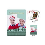 merry christmas - Playing Cards (Mini)